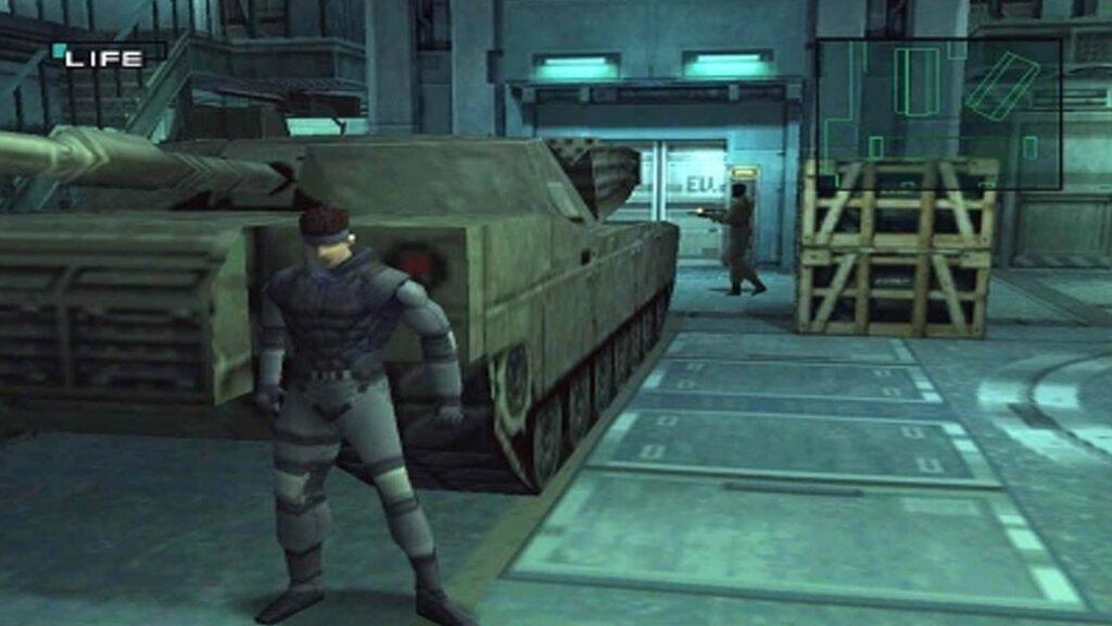 Metal Gear Solid - melhors jogos de PlayStation