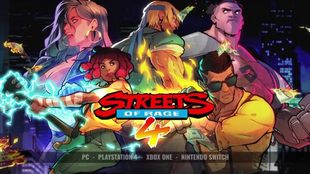 Streets of Rage 4: Multiplayer e novo personagem são revelados em trailer
