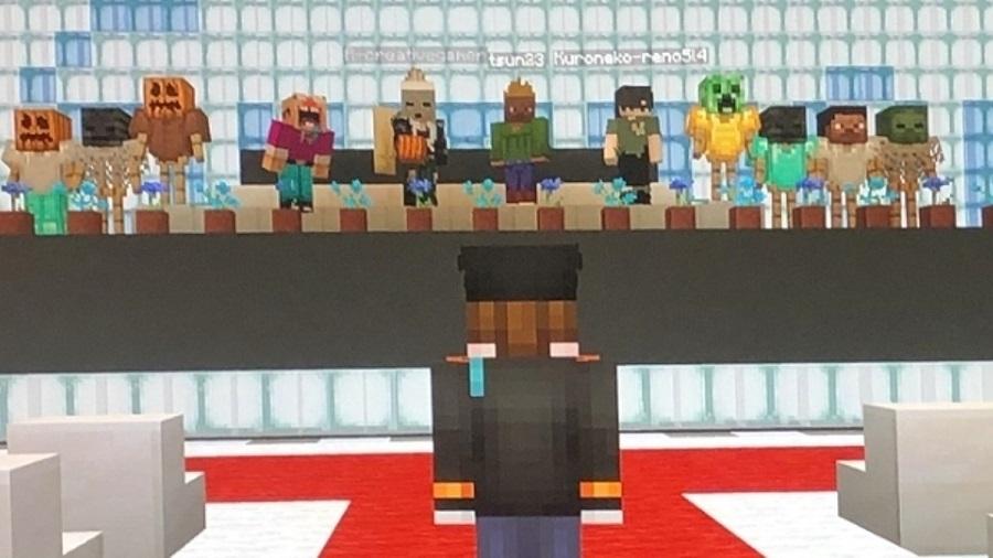 Formatura no Minecraft