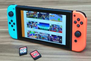 Nova atualização Nintendo Switch