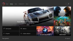 Loja do Xbox One