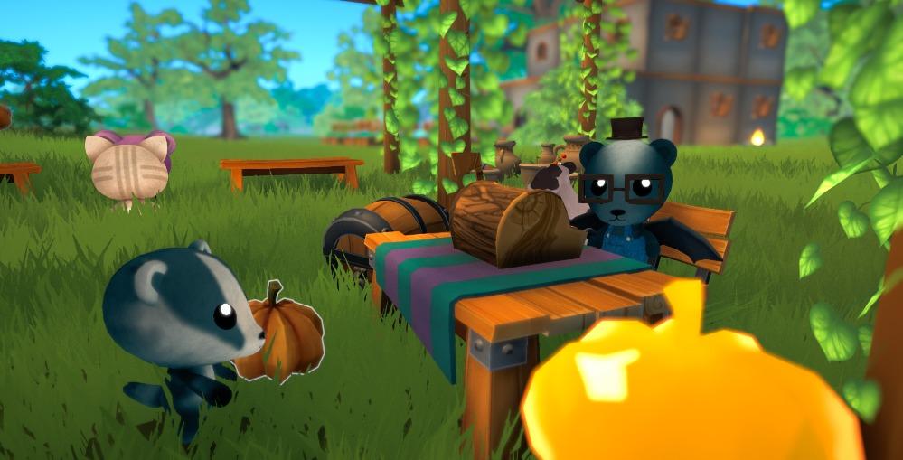 Garden Paws - jogos parecidos com Animal Crossing