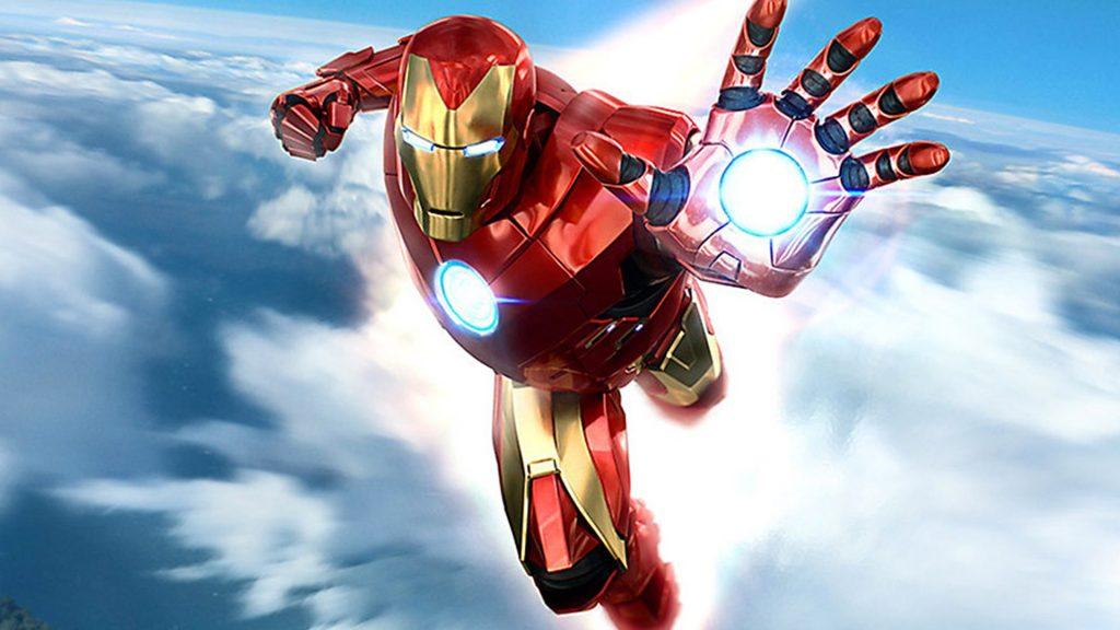 Os melhores jogos da Marvel iron