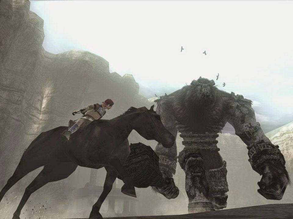 melhores jogos de PlayStation 2  shadow of the colossus