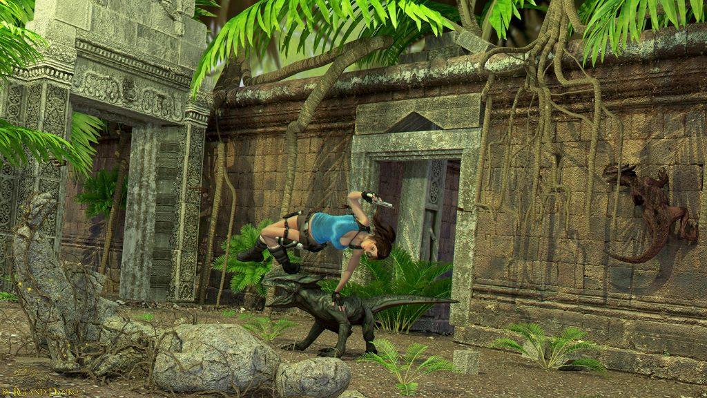 jogos da Crystal Dynamics relic