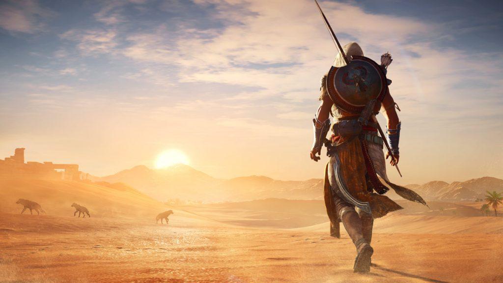 jogos da série Assassins Creed origins