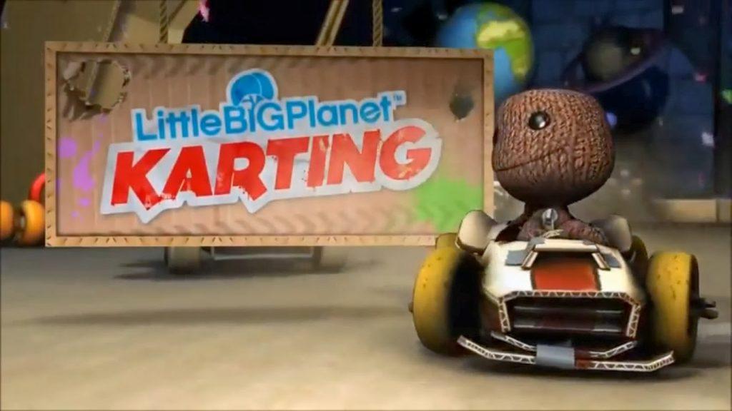 os jogos da série LittleBigPlanet kart