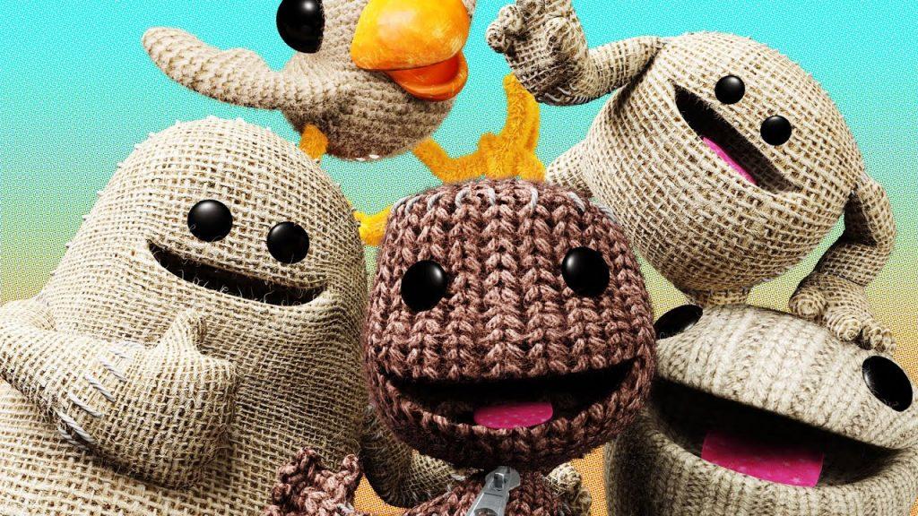 os jogos da série LittleBigPlanet capa