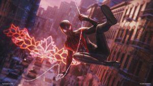 Imagem de Spider-Man Miles Morales no PS5
