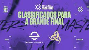 Gamelanders e Team Vikings estão classificadas para a final do VCT Masters Brazil