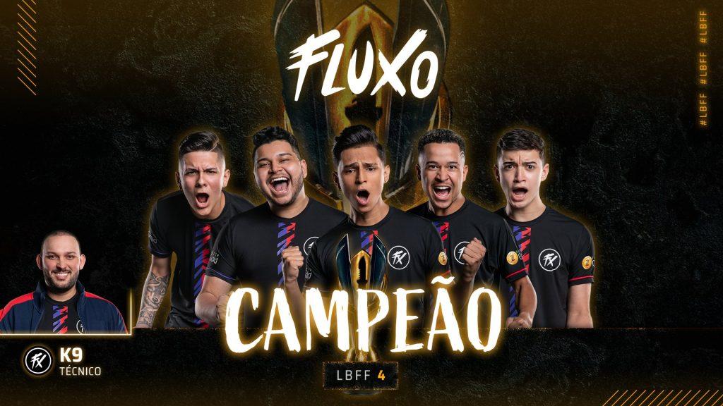 Fluxo é a equipe campeã da LBFF 4