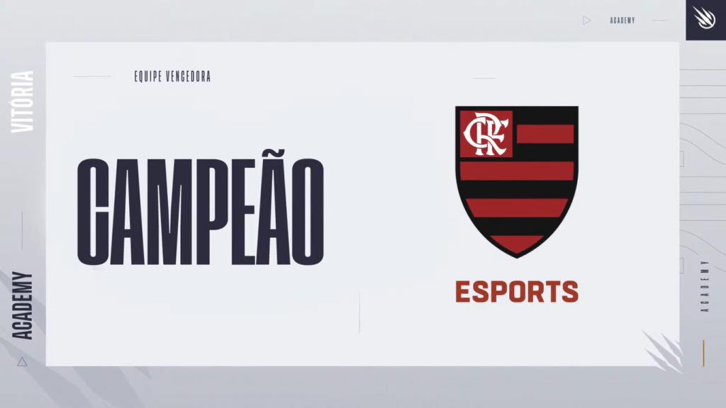 O Flamengo foi campeão do CBLOL Academy.