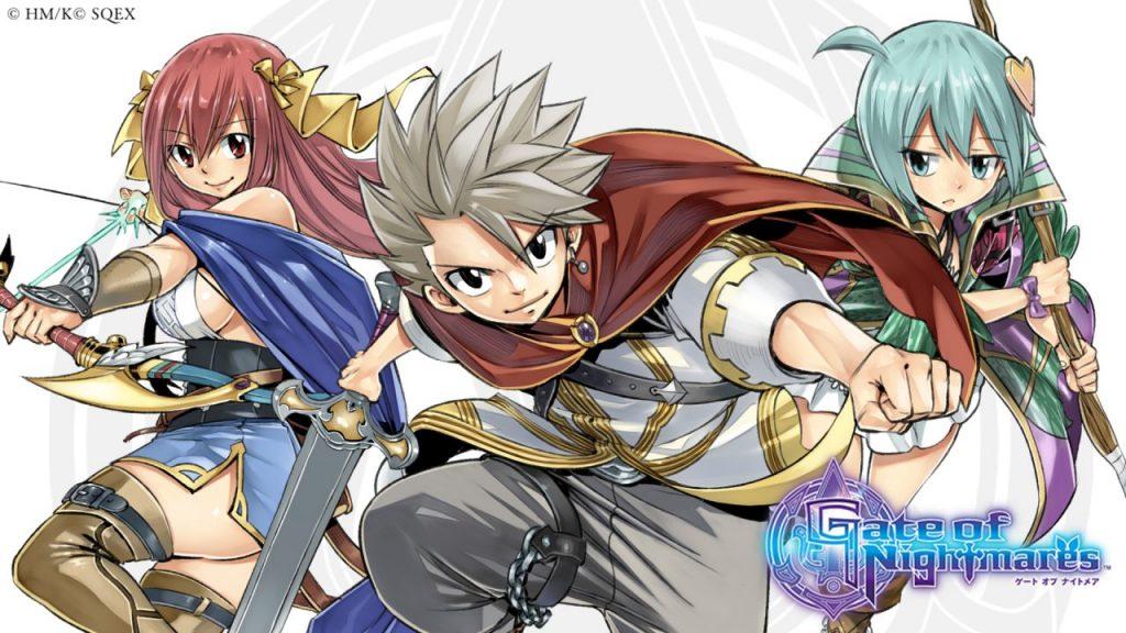 Gate of Nightmares   RPG mobile do criador de Fairy Tail ganha primeiras imagens oficiais