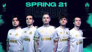 MAD Lions é nova campeã da LEC
