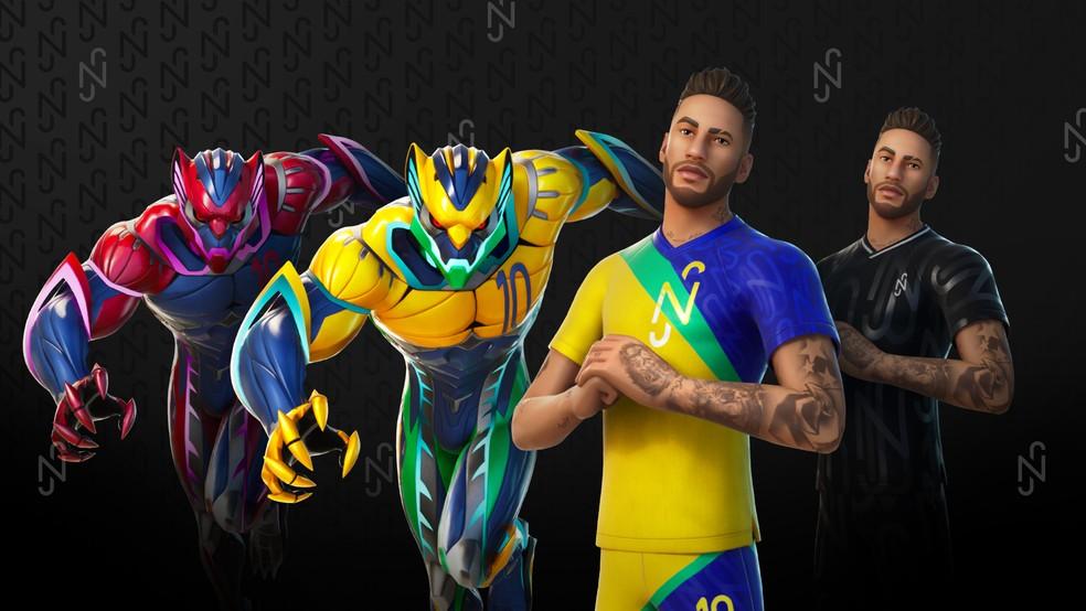 Neymar Skin Fortnite