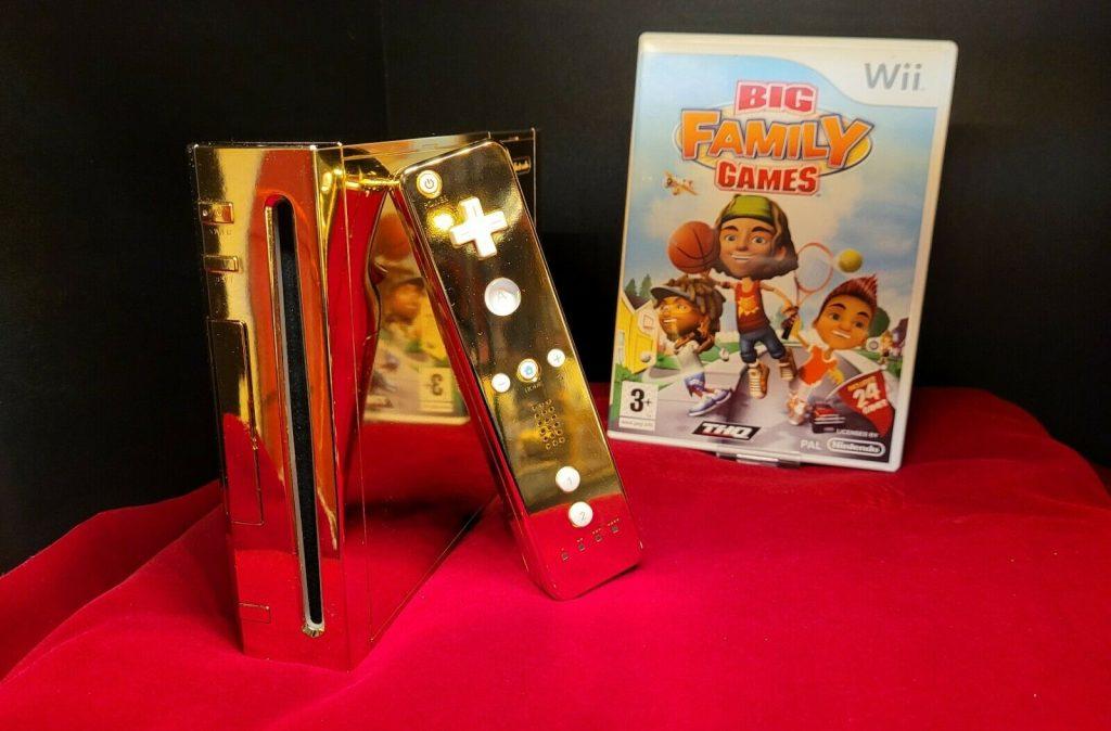 Nintendo Wii Dourado