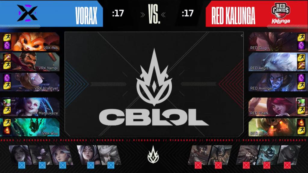 A partida decisiva foi vencida pela Vorax, que agora é finalista do CBLOL.