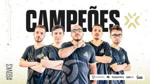 VALORANT: Team Vikings é campeã brasileira da Fase 2