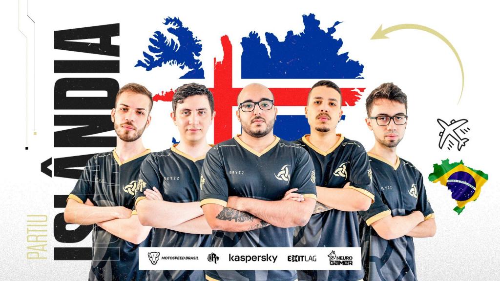 Vikings vai representar o Brasil na Islândia neste VCT.