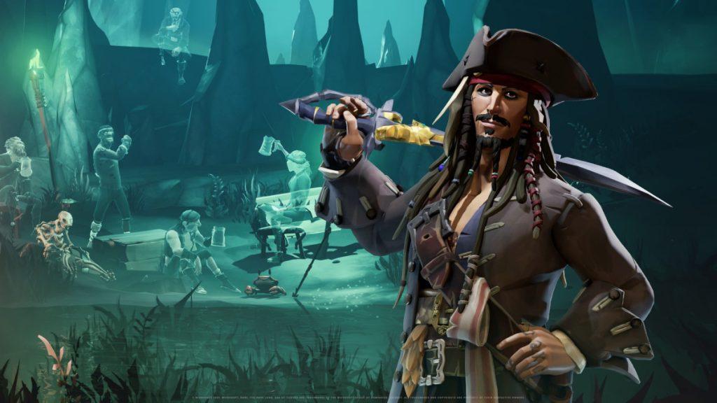 Sea of Thieves terá crossover com Piratas do Caribe