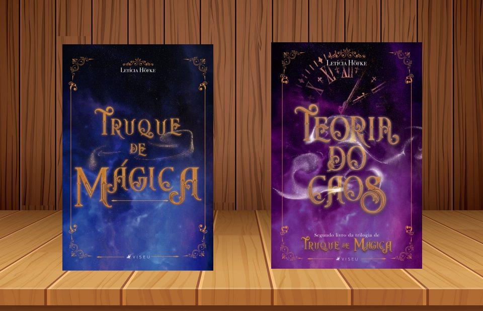"""Conheça a trilogia """"Truque de Mágica"""""""