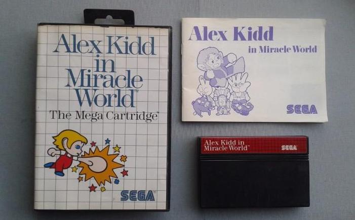 Alex Kidd in Miracle World original, 1986