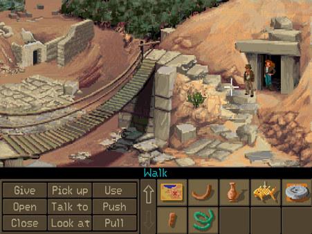 Indiana Jones and the Fate of Atlantis gameplay